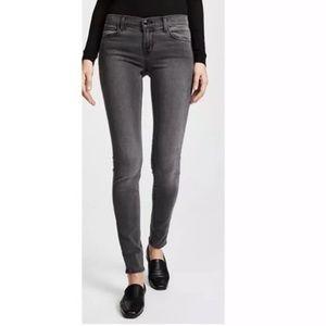 J Brand Faithful skinny crop dark gray jeans 28